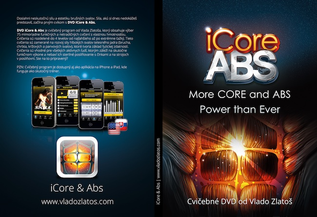 DVD iCore & Abs cover